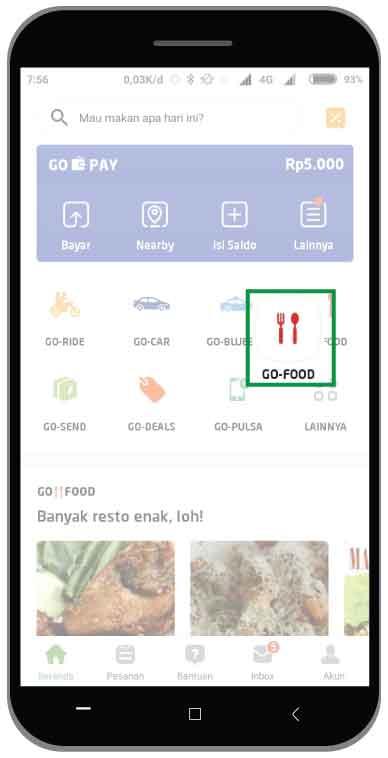 Cara Memesan GO FOOD Terbaru 2019