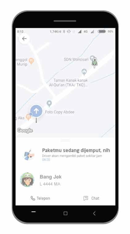 Panduan Cara Penggunaan Layanan GO SEND Terbaru 2019