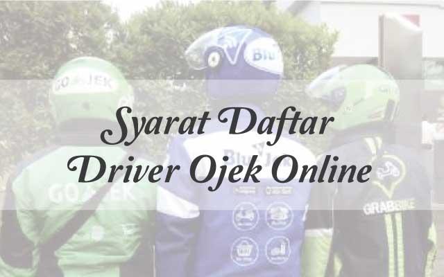 Cara daftar driver Go-Jek secara online