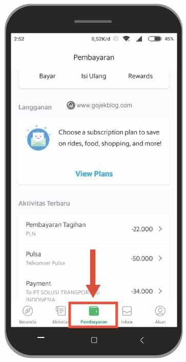 Cara Mudah Beli Pulsa, Paket Data Dan Token Listrik Melalui Aplikasi Grab 2019