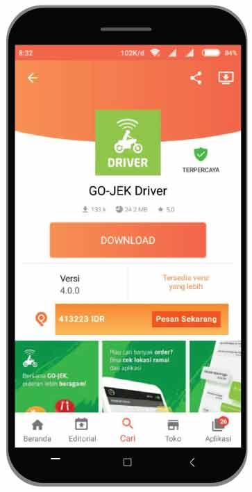 downgrade-aplikasi-gojek-driver-3 - Blog Ojek Online