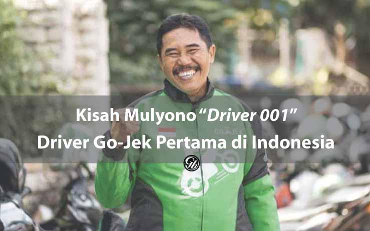 Kisah Mulyono 'Driver 001' Driver Go-Jek Pertama di Indonesia