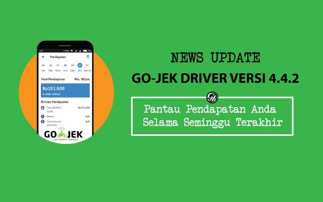 News Update - Aplikasi Driver Go-Jek Versi 4.4.2