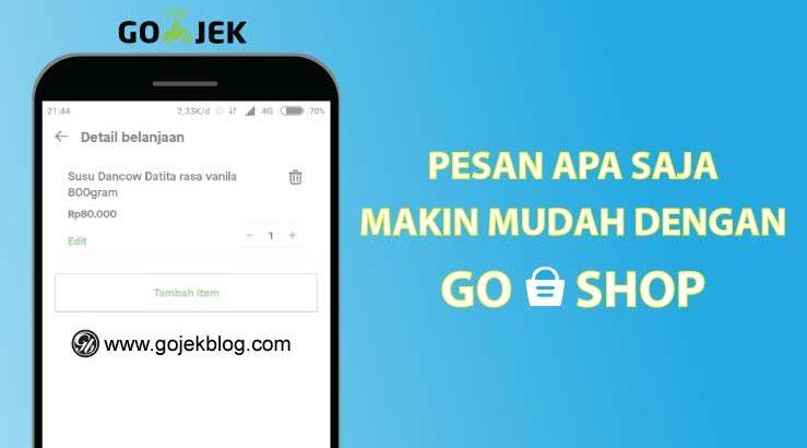 Kini Belanja Barang Apapun Menjadi Lebih Mudah Dengan GoShop