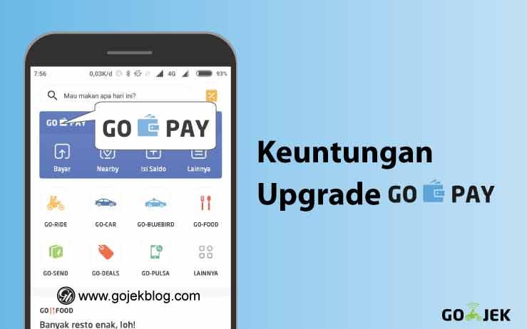 Keuntungan upgrade Gopay