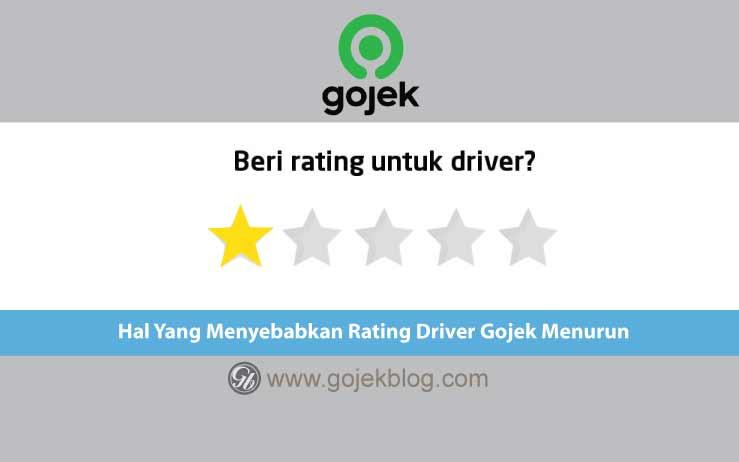 Hal Yang Menyebabkan Rating Driver Gojek Menurun