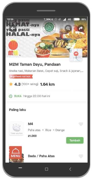 M2M Taman dayu gofood Pandaan
