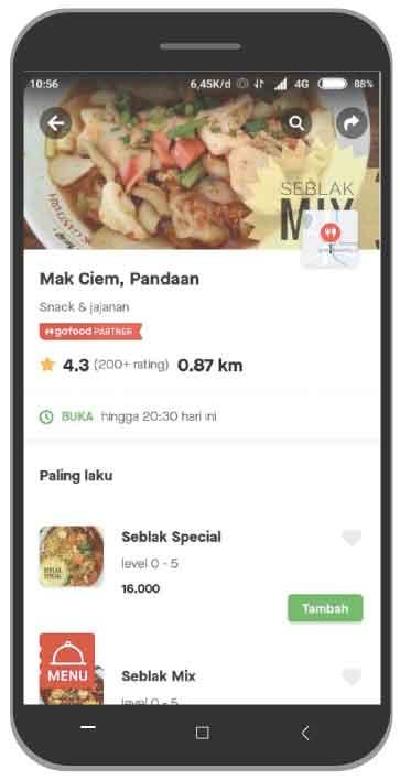 Mak Ciem Gofood Pandaan