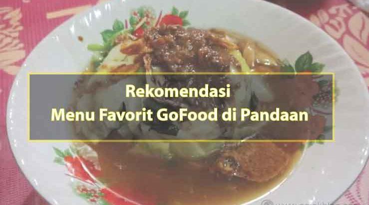 Rekomendai 5 Menu Makanan Favorit Go-Food di Sekitar Pandaan