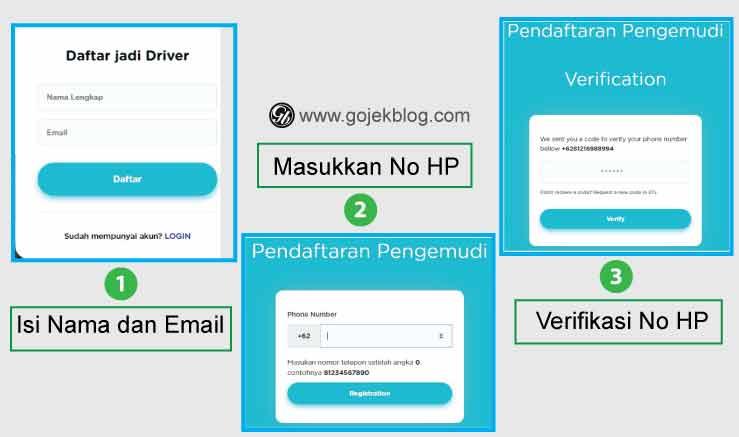 Cara Mudah Daftar Driver Anterin Secara Online 2019