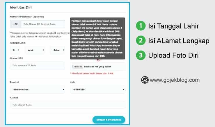 Cara Daftar Anterin 2 Blog Ojek Online