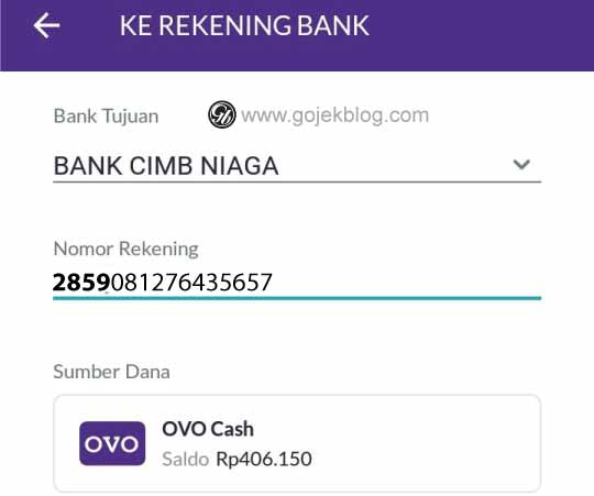 Cara Top Up Gopay Customer Dan Gopay Driver Mengunakan Saldo OVO