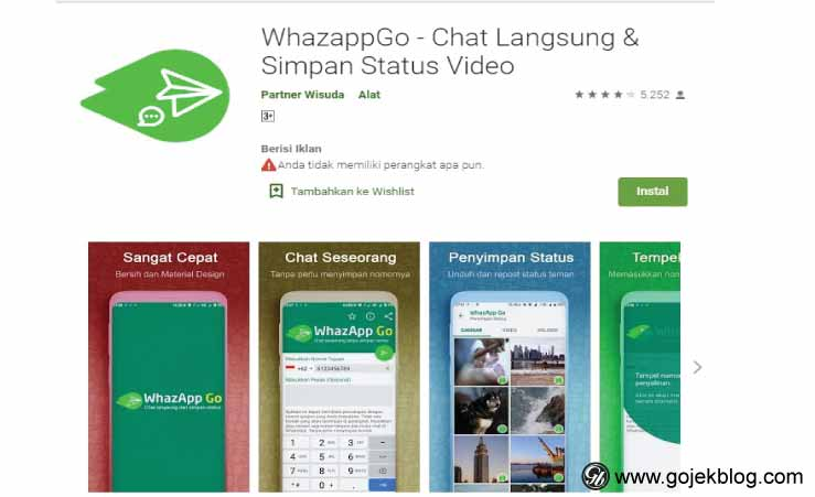 aplikasi WhazApp Go