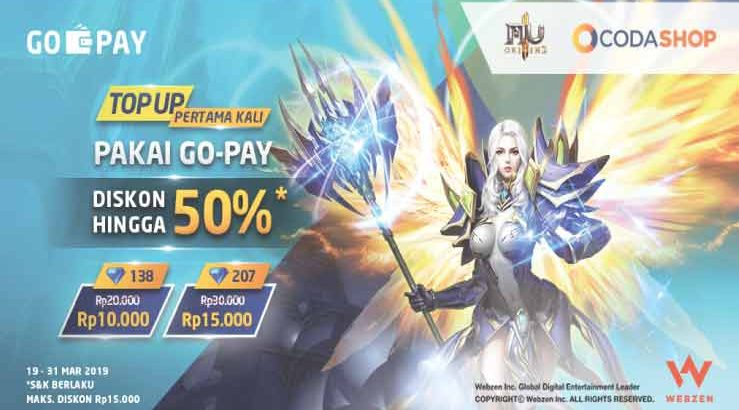 top up game dengan gopay