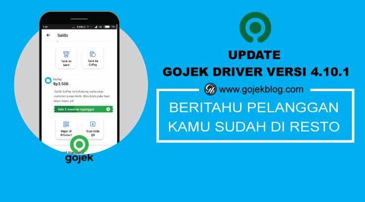 Update Gojek Driver Versi 4.10.1