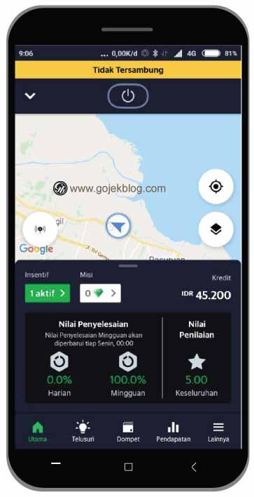 Penjelasan Kegunaan Fitur di Aplikasi Grab Driver 2020