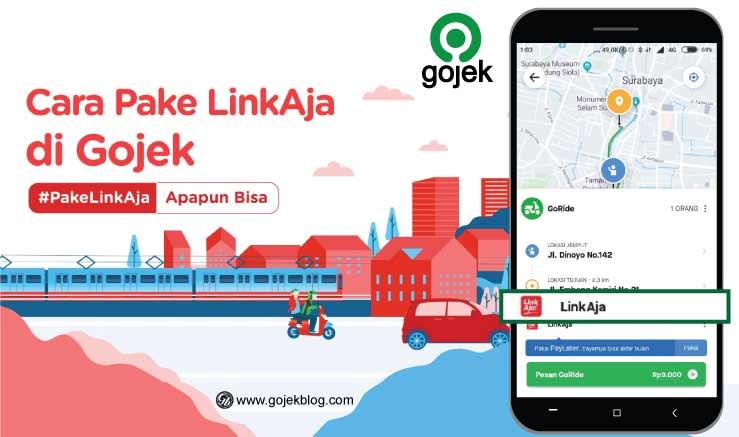 Cara Mengaktifkan Metode Pembayaran LinkAja di Gojek