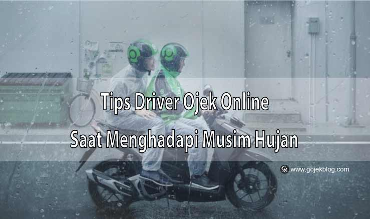 Tips OnBid Driver Ojek Online Saat Menghadapi Musim Hujan
