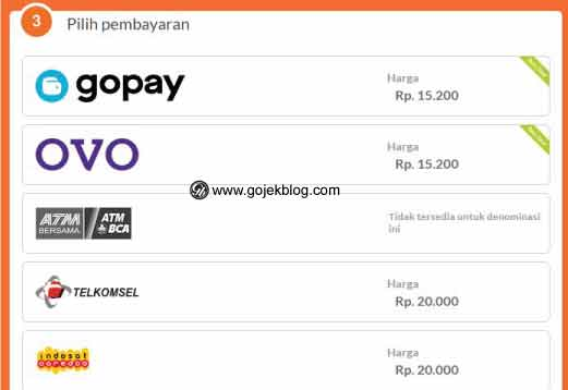 Cara Top up Mobile Legend Via CodaShop pakai Gopay
