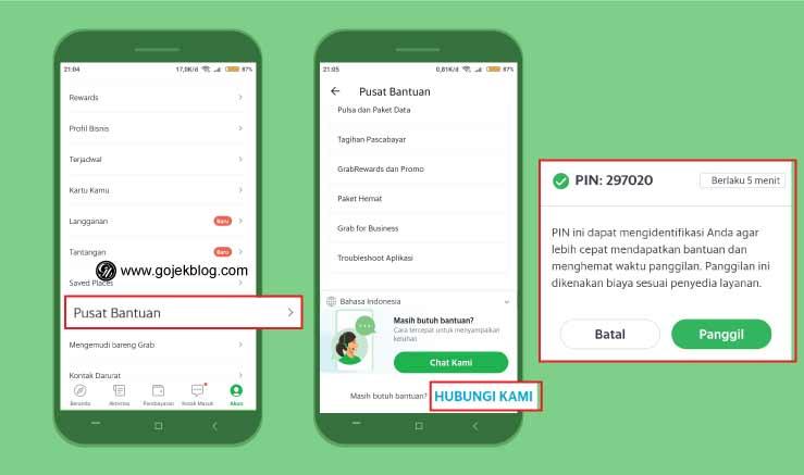 Cara Menghubungi Call Center Grab Indonesia Terbaru 2021
