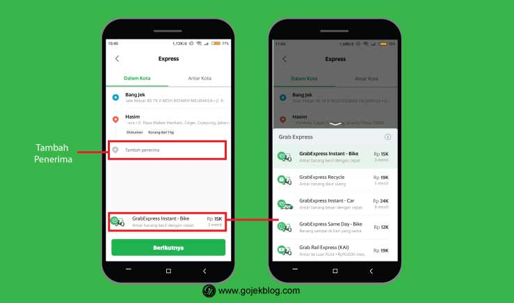 Cara Mudah Pesan GrabExpress Terbaru 2021