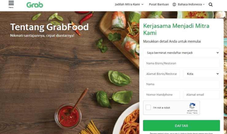 Cara Daftar GrabFood dan GrabMart Merchant Secara Online